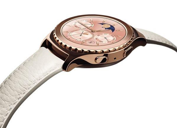 Смарт-часы Samsung Gear S2 теперь доступны и в цвете розовое золото – фото 1
