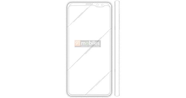 Samsung запатентовала смартфон с «челкой» – фото 1