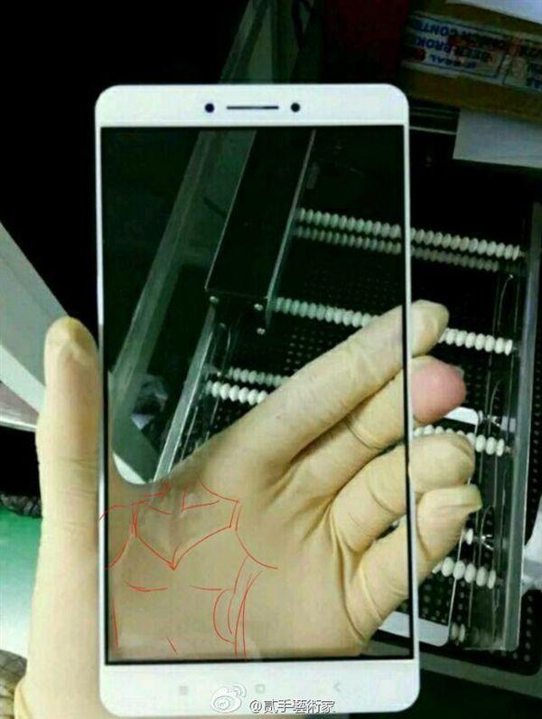 Xiaomi Max: фотографии лицевой панели 6,4-дюймового фаблета – фото 3