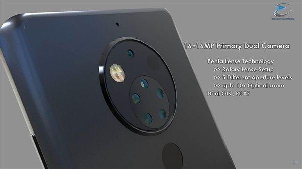 Многокамерный смартфон Nokia на фото – фото 5