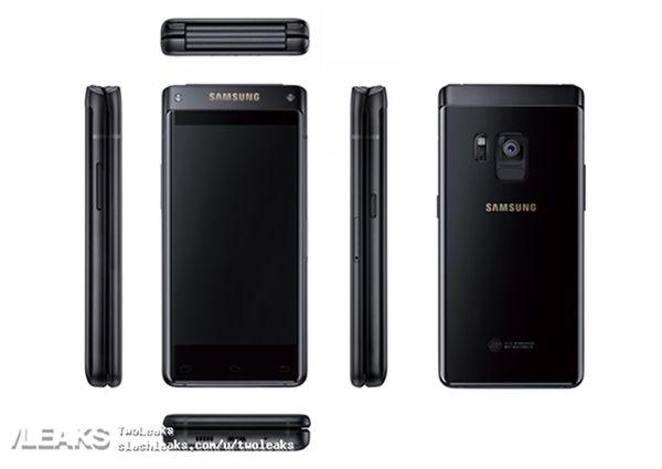 Samsung W2018: изображения и характеристики флагманской раскладушки – фото 1
