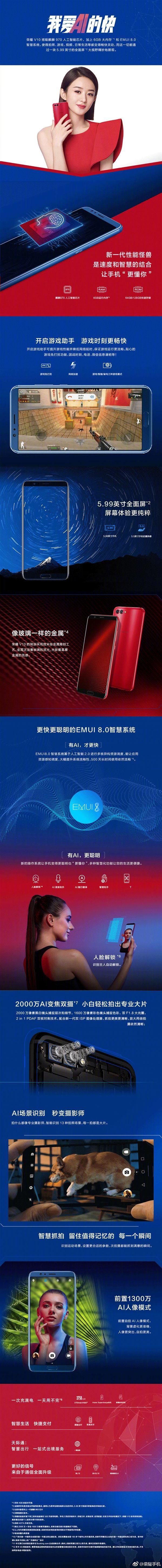 Huawei Honor V10 с двойной камерой и чипом Kirin 970 представлен – фото 10