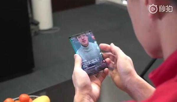 Xiaomi показала складной смартфон – фото 4