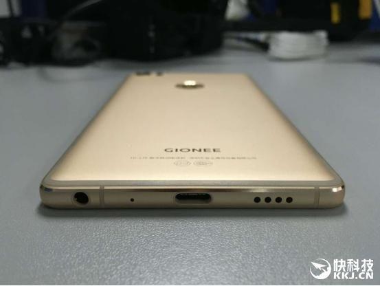 Gionee S8: новое фото показывает цельнометаллический корпус, оригинальное размещение антенн и измененный логотип – фото 1