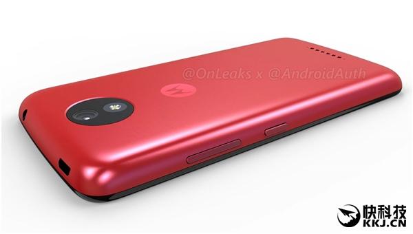 Красный Moto C показался на рендерах – фото 4