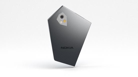 Nokia Prisma - концепт пятиугольного смартфона будущего – фото 5