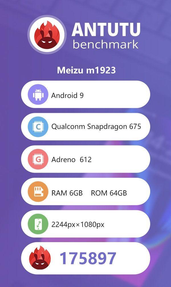 Meizu Note 9 прошел испытание в AnTuTu – фото 1