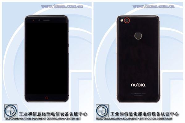 Nubia Z11 mini (NX529J) со сканером отпечатков пальцев засветился в TENAA – фото 1
