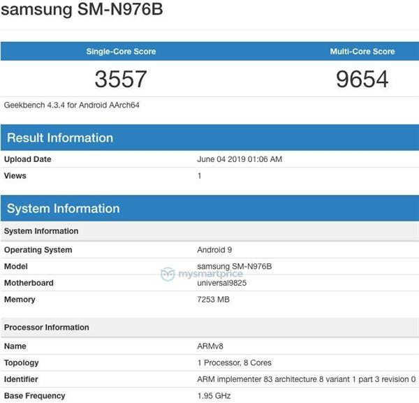 Geekbench раскрыл ключевые характеристики Samsung Galaxy Note 10 – фото 3