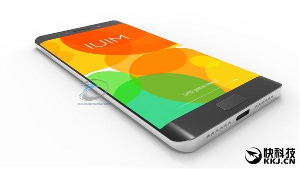 Xiaomi Mi Note 2 на новых рендерах: спереди Samsung Galaxy S7 Edge, а сзади Xiaomi Mi5 с двумя камерами – фото 1