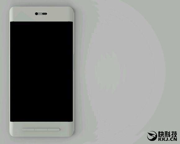 Smartisan T3 получит изогнутый экран, 3 механические навигационные кнопки и сканер отпечатков пальцев сзади – фото 2