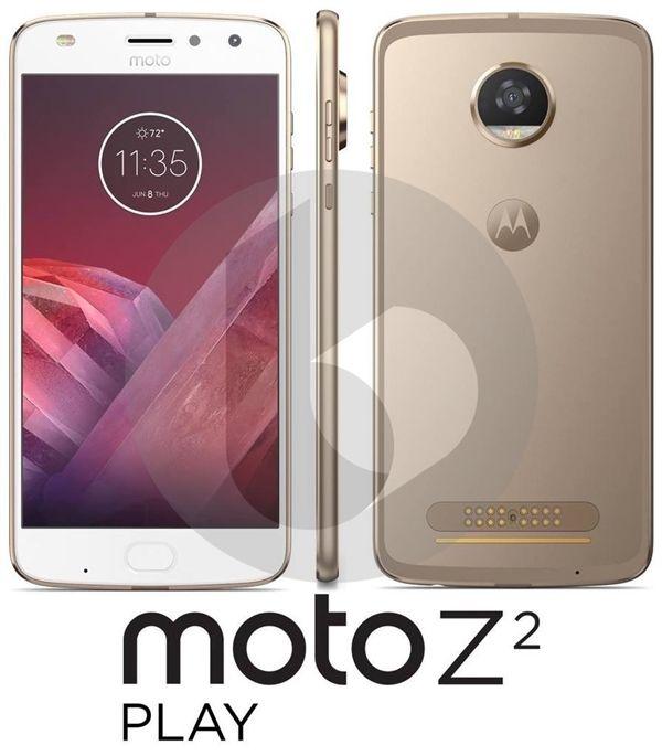 Moto Z2 Play показал себя на рендере и получит Snapdragon 660 – фото 2