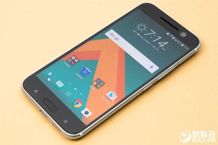Производительность HTC 10 сравнили в бенчмарке с другими топовыми смартфонами – фото 1