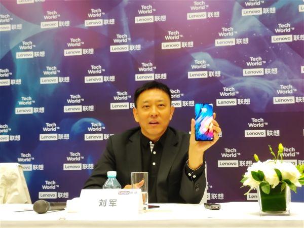 Вице-президент показал безрамочный слайдер Lenovo Z5 Pro – фото 1