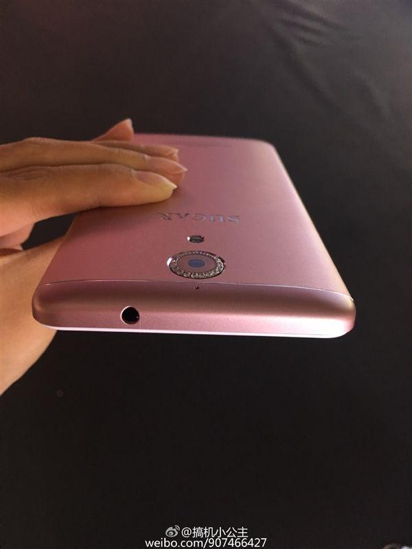 Sugar F7 с 5,2-дюймовым дисплеем, процессором Snapdragon 430 и 4 Гб оперативки,  украсили камнями Сваровски вокруг тыльной 16 Мп камеры – фото 5