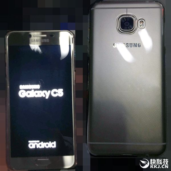 Samsung Galaxy C5 выполненный в металлическом корпусе показали на реальных снимках – фото 1