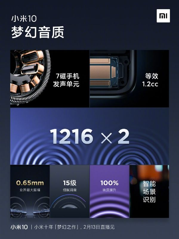 Xiaomi Mi 10 привезут на MWC 2020. Крутая начинка и стереозвук
