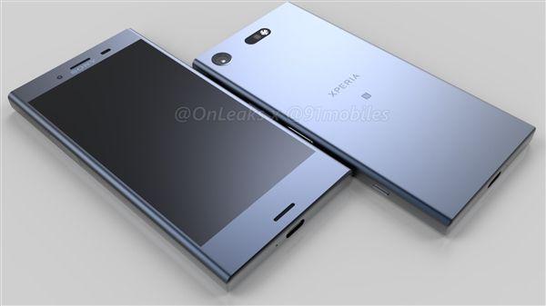 Рендеры флагмана Sony Xperia XZ1 Compact. Одной правой – фото 1