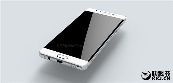 Рендеры Samsung Galaxy Note 7 опубликованы в сети: USB Type-C (впервые), датчики распознавания радужной оболочки глаза и раздельное расположение кнопок – фото 4