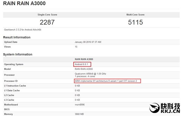 Очередной монстр производительности с Snapdragon 820 засветился в бенчмарке – фото 1
