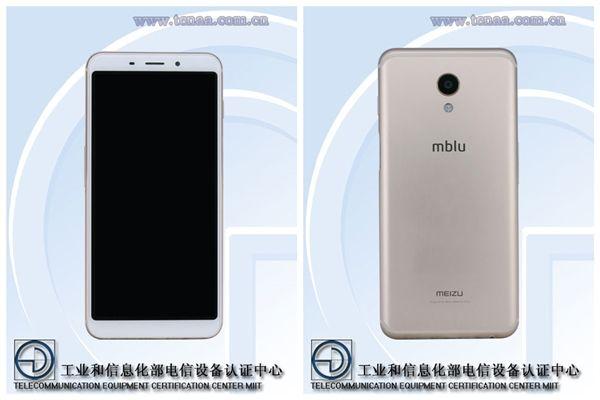 Изображения Meizu mblu 6S или Meizu M6S с сайта TENAA – фото 2
