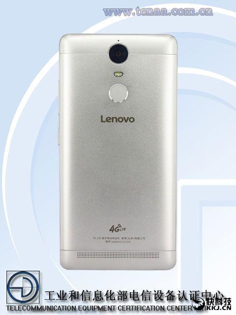 Lenovo K5 Note сертифицирован в TENAA: металлический фаблет на базе Helio P10 – фото 3