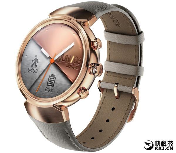 Смарт-часы Asus ZenWatch 3 тоньше и дешевле, чем Samsung Gear S3 – фото 1
