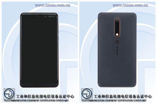Nokia 6 (2018) появился в TENAA – фото 1