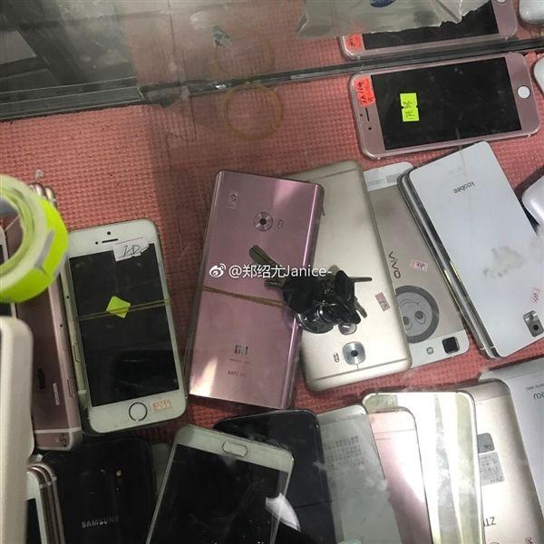 Как выглядит Xiaomi Mi Note 2 в розовом цвете – фото 1