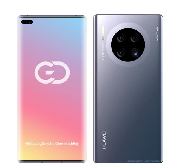 В сеть попали рендеры Huawei Mate 40 Pro – фото 3