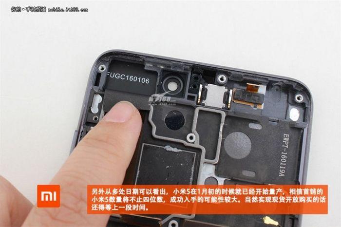 Xiaomi Mi5 уже успели разобрать. Фотоотчет – фото 11