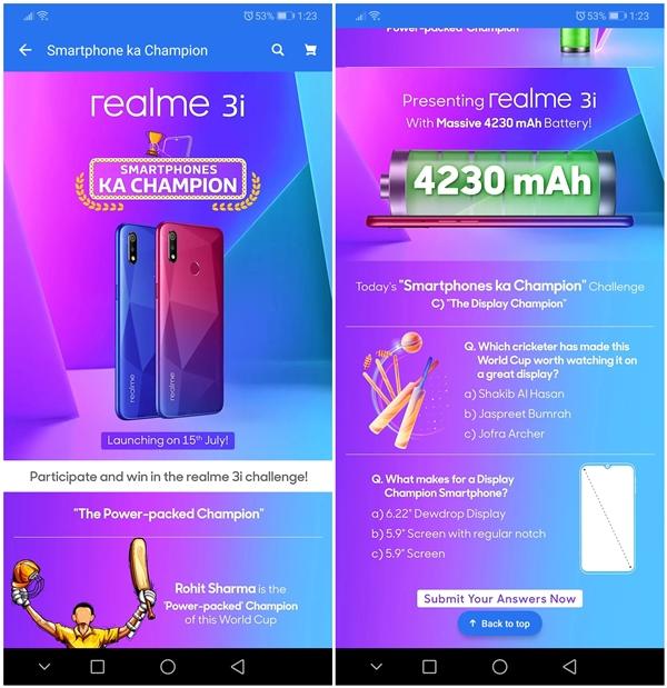 Какой экран получит Realme 3i – фото 2