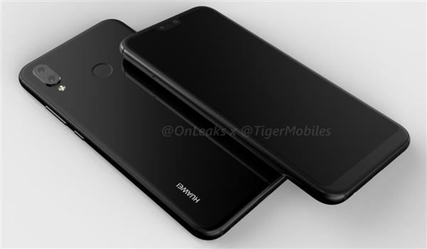 Huawei P20 Lite показали на 3D-рендере – фото 4