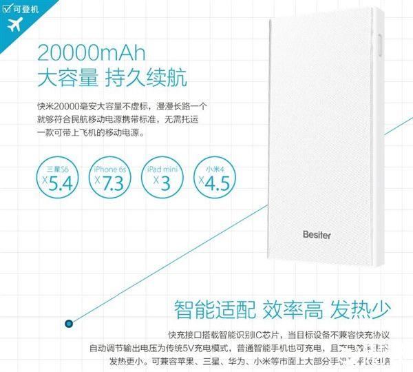 Павербанк от Besiter на 20000 мАч получил USB Type-C, поддерживает QC3.0 и стоит всего $15 – фото 4