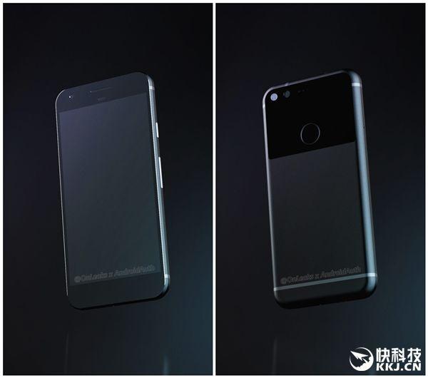 Google Pixel (Sailfish): новые рендеры раскрывают подробности дизайна компактного смартфона – фото 3