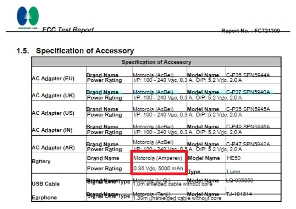 Смартфоны Moto E4 и Moto E4 Plus сертифицированы в FCC – фото 2