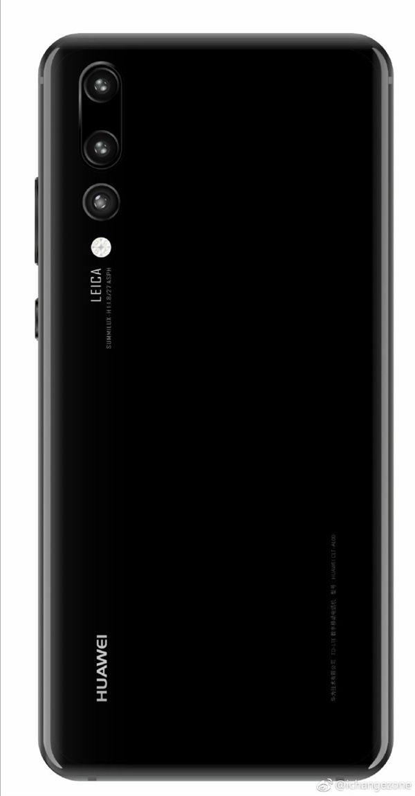 Рендеры Huawei P20 или P20 Pro показывают дизайнерские особенности флагмана – фото 3