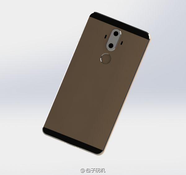 Реальное фото двойной камеры Huawei Mate 9 слили в сеть – фото 4