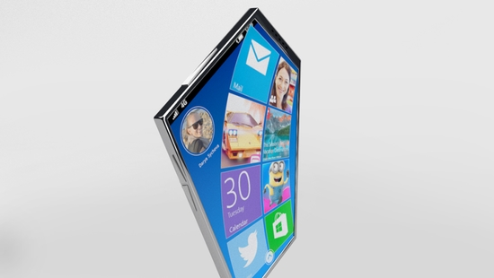 Nokia Prisma - концепт пятиугольного смартфона будущего – фото 1
