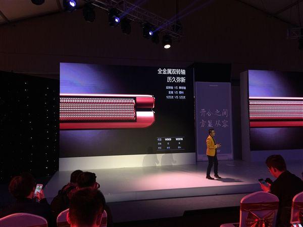 Gionee W909: раскладной телефон с процессором Helio P10 и ценником $615 представлен официально – фото 2