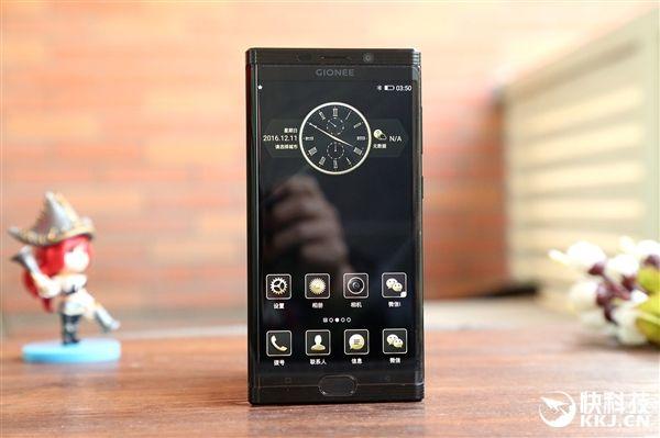 Gionee M2017 – эксклюзивный смартфон, как символ достатка и статуса – фото 4