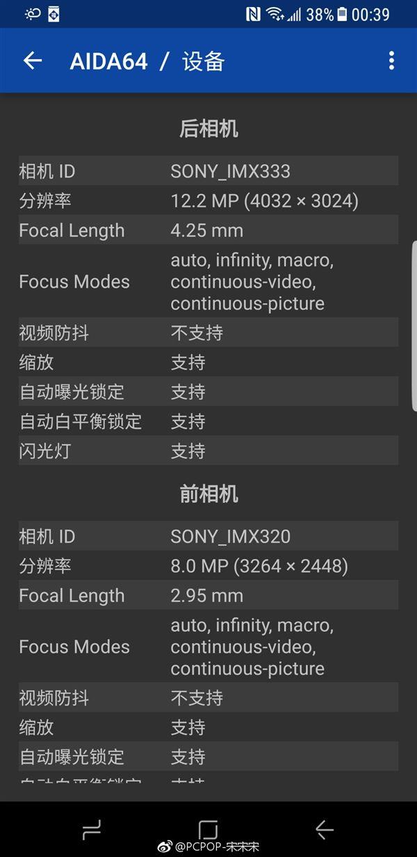 Samsung Galaxy S8 и Galaxy S8+ получили новые сенсоры Sony IMX333 и IMX320 – фото 2
