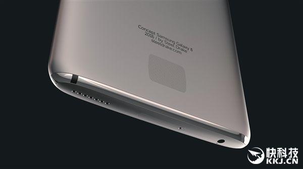 Samsung Galaxy S8: первый концепт-арт далекого флагмана – фото 7
