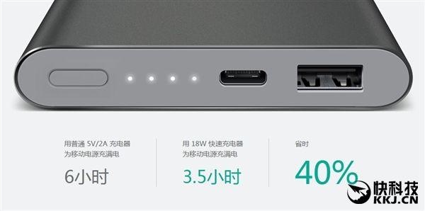 Новый павербанк от Xiaomi на 10000 мАч обзавелся разъемом USB Type-C – фото 5