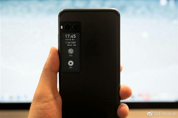 В Meizu Pro 7 все же будет второй дисплей – фото 1
