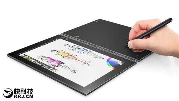 Lenovo Yoga Book получил сенсорную клавиатуру, на которой можно рисовать – фото 4