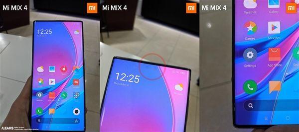 Xiaomi Mi MIX 4 позирует на фото