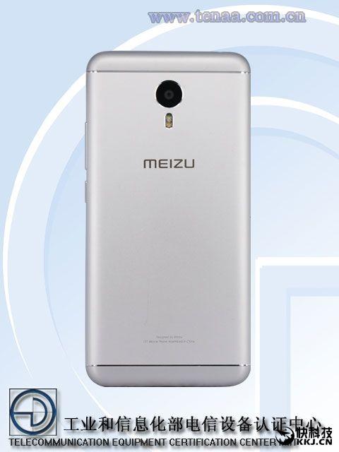 Meizu Metal 2 с аналогичными модели M3 Note характеристиками был замечен в TENAA – фото 3