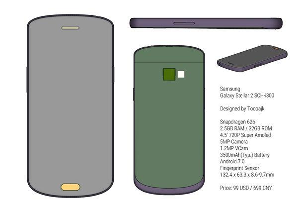 Samsung Galaxy Stellar 2 — 4,5-дюймовый смартфон с Snapdragon 626 для всех, кто предпочитает компакты – фото 7