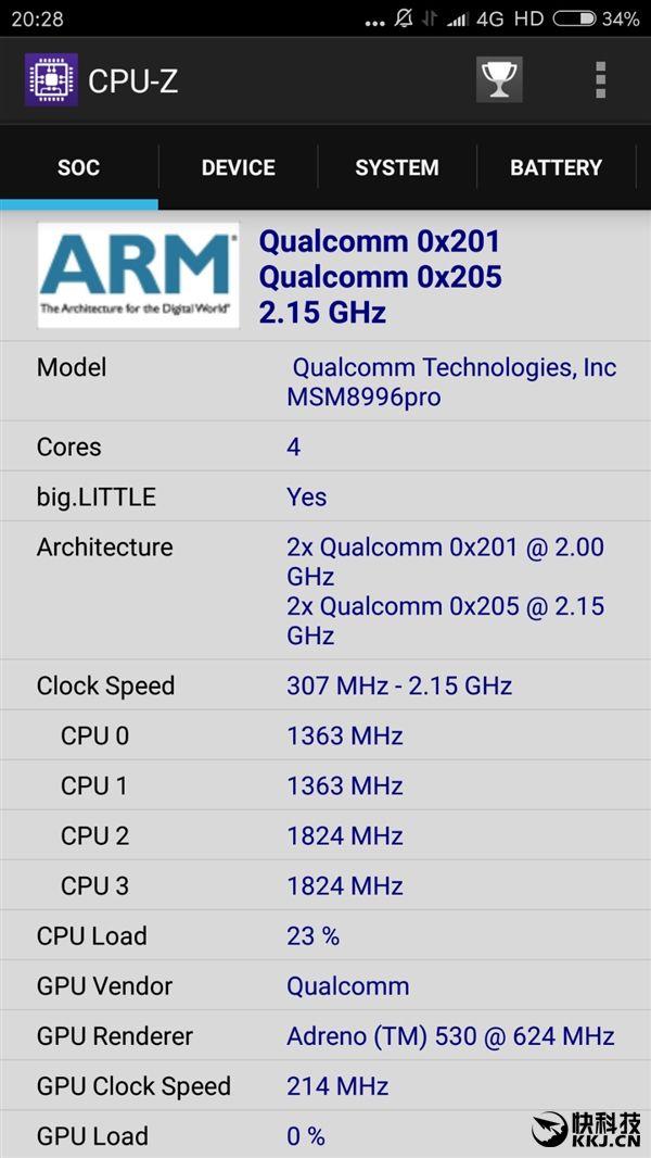 Xiaomi Mi 5S: Snapdragon 820 или 821 - какой на самом деле процессор установлен в новом флагмане? – фото 1